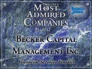 Fast fact: The Becker Value Equity Fund earned a Mutual Fund Excellence Award from Standard & Poor's in 2010 in the Domestic Large-Cap category.