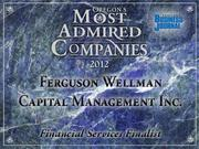Fast fact: Ferguson Wellman hasn't had any employee turnover on its investment team in over 20 years.