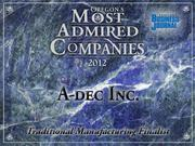 Fast fact:A-dec Inc. depends on exports for 22 percent of its approximately $270 million in revenue.