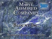 Fast fact:Blount Inc.in August backed away from earlier forecasts that it would top $1 billion in sales for the first time this year.