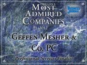 Fast fact: Geffen Mesher & Co. PC recently introduced its new branding effort, which includes a revamped website and logo.