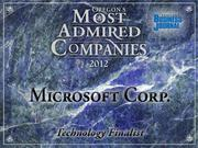 Fast fact:Microsoft Corp., broke into the hardware business with the Surface tablet computer.