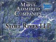 Professional Services: Stoel Rives LLP