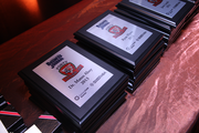 Award winners were given plaques in honor of their inclusion into the 2014 40 Under 40 class.