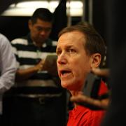 """Coach Terry Stotts, on what he'll watch from this year's roster:""""I'm going to judge this team by the way it competes. Players, coaches, fans, anyone who follows the NBA knows we have to compete every night and if you show improvement and the team has a style of play that players and fans enjoy, that takes care of itself. Wins and losses, at the end of the season, we'll reevaluate, but my number one concern is how the team competes every night."""""""