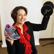 Lori Chamberlain, senior vice president and COO, Oregon Bankers Association. Chamberlain unwinds after long days with a robust workout.