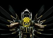 """The Ducks' uniform is the latest evolution of Nike's """"Pro Combat"""" system of dress."""