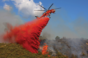 Erickson Air-Crane generates a lot its business through aerial firefighting services, which is highly seasonal. Over the last two years it's targeted oil and gas exploration as a less seasonal target market.