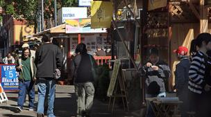 Portland Walking Tours and Food Carts Portland both offer tours of the city's food carts.