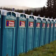 Honey Buckets are a staple at every Hood to Coast runner exchange point. One request for race organizers: More bathrooms, please.