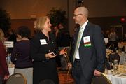 Laurel Klaus of Regence BlueCross BlueShield of Oregon and Keith Forrester of Kaiser Permanente.