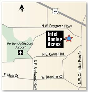 The latest round of expansion at Intel's Ronler Acres campus will likely be a catalyst for development in Hillsboro.
