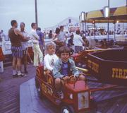 My brother, Wade, and I at the Seaside Heights Boardwalk.