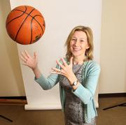 Marina Johnson, chief investment officer, Vision Capital Management Inc.There's nothing like a spirited game of family hoops for Johnson.
