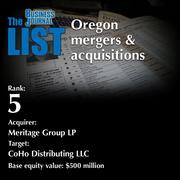 5: Acquirer: Meritage Group LP  The full list ofSBA lenders- including contact information -is available to PBJ subscribers.  Not a subscriber? Sign up for a free 4-week trial subscription to view this list and more today >>
