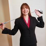 Mary Lago, vice president, wealth management and advisory services, Washington Trust Bank. Lago hits the links whenever she can.