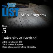5: University of Portland