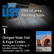 1: Oregon State Fair & Expo Center  The full list ofout-of-area meeting sites– including contact information – is available to PBJ subscribers.  Not a subscriber? Sign up for a free 4-week trial subscription to view this list and more today >>