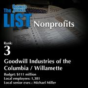3: Goodwill Industries of the Columbia / Willamette