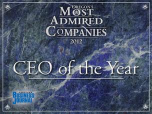 Oregon's Most Admired CEOs of 2012.