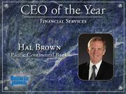 Financial Services: Hal Brown, Pacific Continental Bank