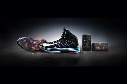 Nike Inc. on Wednesday unveiled the Nike+ Hyperdunk, the first basketball shoe to use its Nike+ digital technology platform.