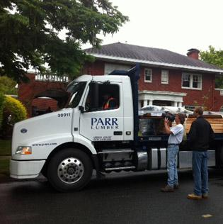 "Parr Lumber was selected to participate on the ""House Crashers"" show on the Do-It-Yourself Network."