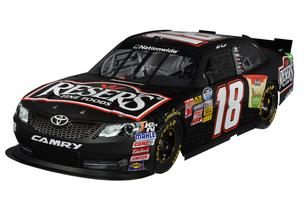 The No. 18 Reser's Toyota will be driven by Joe Gibbs Racing driver Matt Kenseth for five races in this year's NASCAR Nationwide Series.