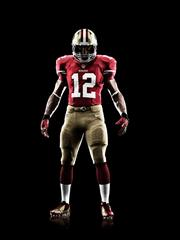 The San Francisco 49ers, one of the Cardinals chief rivals, didn't change their uniform much with the new Nike contract.