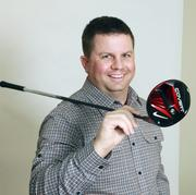 Ryan Smith, CFO Nike Golf (Nike Inc.). Smith says the soon-to-market Nike Golf Covert Driver helps him hit long and straight.