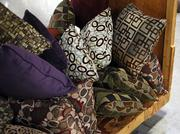 Pillows ready to ship at the Pacific Furniture Industries manufacturing plant in Tualatin.