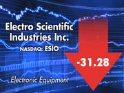 ESI officials remained upbeat despite their stocks' pronounced drop during the last 12 months.