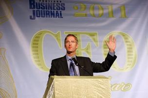 Oregon State Treasurer delivered the keynote address at the Portland Business Journal's CFO of the Year luncheon.