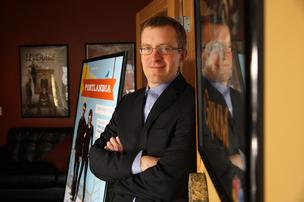 Vince Porter, executive director of the Oregon Governor's Office of Film & Television, hopes a new incubator program proposed in partnership with the Portland Incubator Experiment will help nurture filmmakers, advertising agencies, or others in the creative industry looking to innovative digital storytelling.