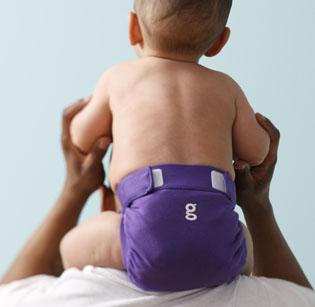 "gDiapers is set to introduce its ""Gurple Purple"" line and other colors when it rolls out its fall collection."