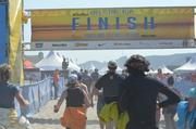 199-miles later, team No. 981 crosses the finish line in Seaside.