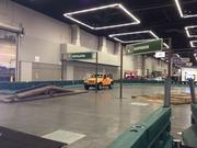 The Camp Jeep course at the Portland International Auto Show.