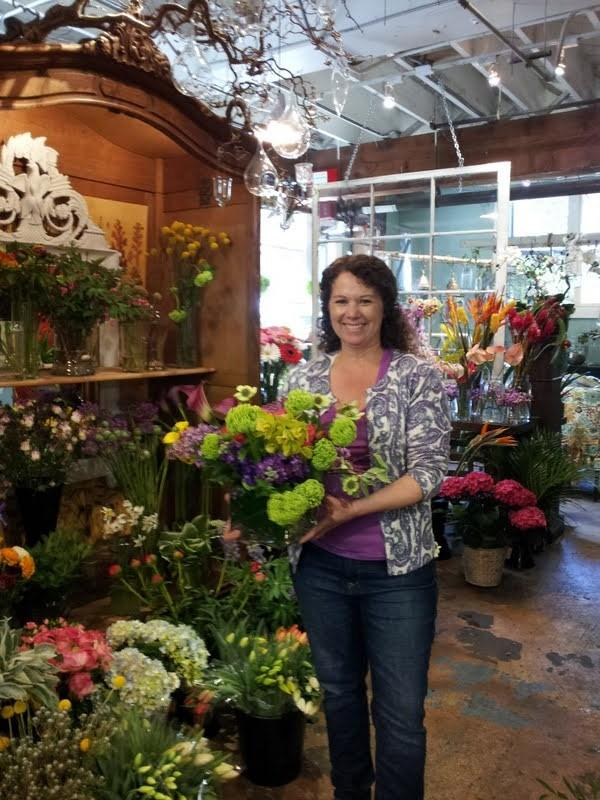 Wendi Day, owner of Old Town Florist, says Mother's Day is extremely important for her five-employee business.