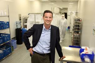 Scott Keeney, CEO of Vancouver, Wash.-based nLight Photonics Corp.