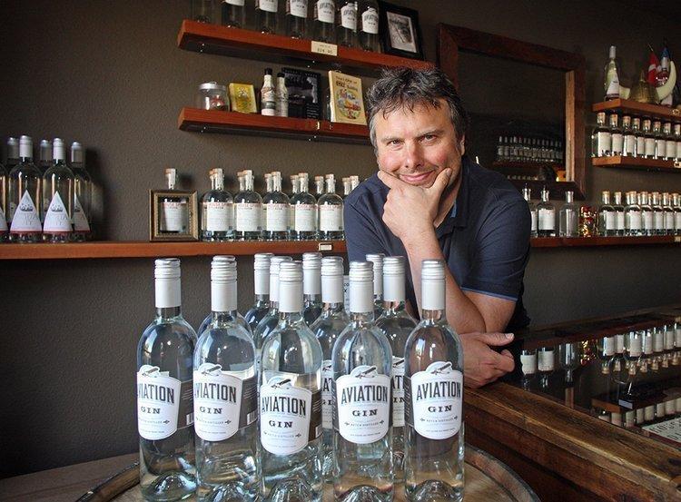 Christian Krogstad, founder of House Spirits Distillery.