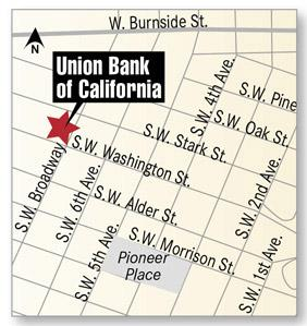 Union Bank tower map