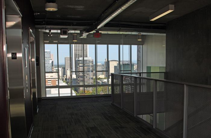 Portland State University's 980-bed University Pointe residence, which opened this month, offers sweeping views of downtown Portland.