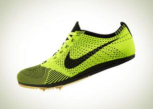US distance Dathan Ritzenheim will wear these new Nike Flyknit track spikes in the 10,000-meter race Saturday.