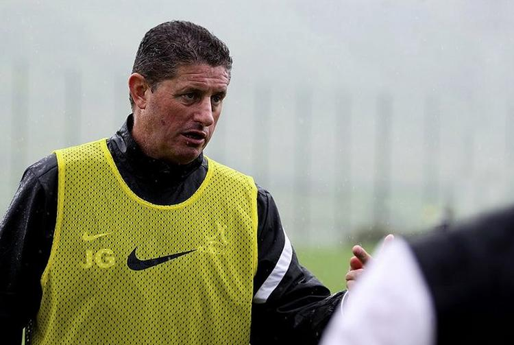 Jimmy Gilligan, head coach of the Nike Academy.