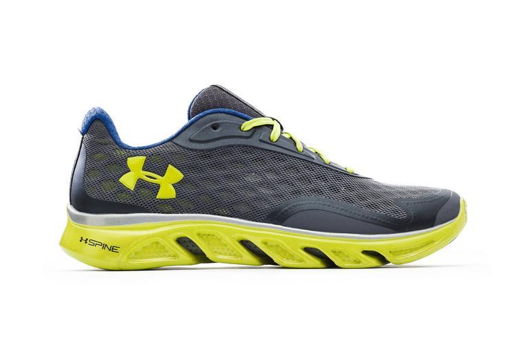Under Armour Inc., a key rival to Nike Inc. and Adidas, on Wednesday debuted its new UA Spine RPM line of running shoes.