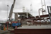 The spires are a signature design element of the Hillsboro Hops new stadium.