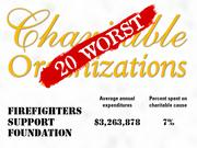 4.Firefighters Support Foundation of Greenfield, Mass. offers training programs and supports injury prevention initiatives for firefighters and other first responding public safety agencies.