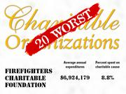 8.Firefighters Charitable Foundation of Farmingdale, N.Y. provides financial assistance to individuals who have been affected by a fire or disaster and supports other disaster or prevention related charities, and volunteer fire departments.