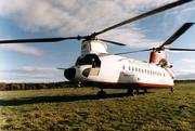 Columbia Helicopters acquired a British Airways helicopter similar to this one about 20 years ago. The helicopter had been ditched in the North Atlantic and recovered before Columbia acquired it and placed it into storage. The company over the past year has begun work to get the aircraft back into flying shape.
