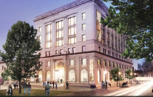 A rendering of Pacific Northwest College of Art's planned Arlene and Harold Schnitzer Center for Art and Design.